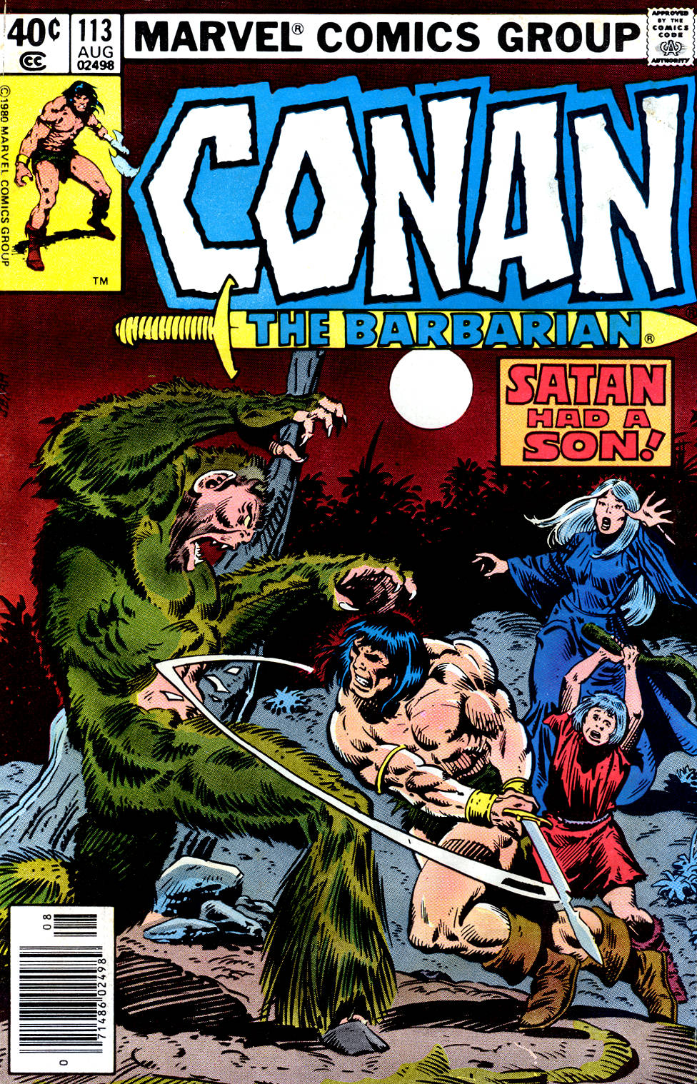 Conan the Barbarian (1970) Issue #113 #125 - English 1