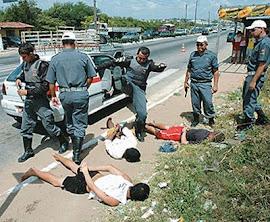 polícia brasileira continua matando