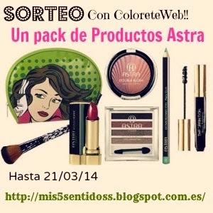 Sorteo con Colorete Web