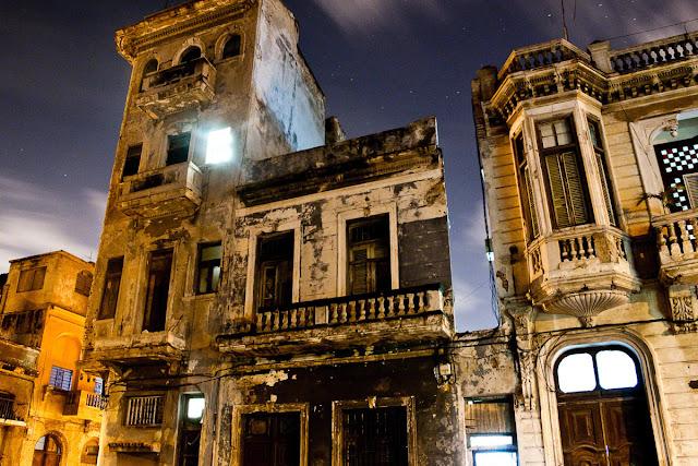 Avenida 3 Havana, Cuba at night by Marlon Krieger