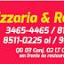 PIZZARIA E RESTAURANTE NERES FONE : 3465-4465
