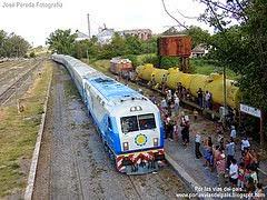 Trenes CNR ( En Rosario y Rufino)