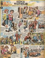 stanca stinca vulturilor bd cutezatorii revista benzi desenate puiu manu comics romania
