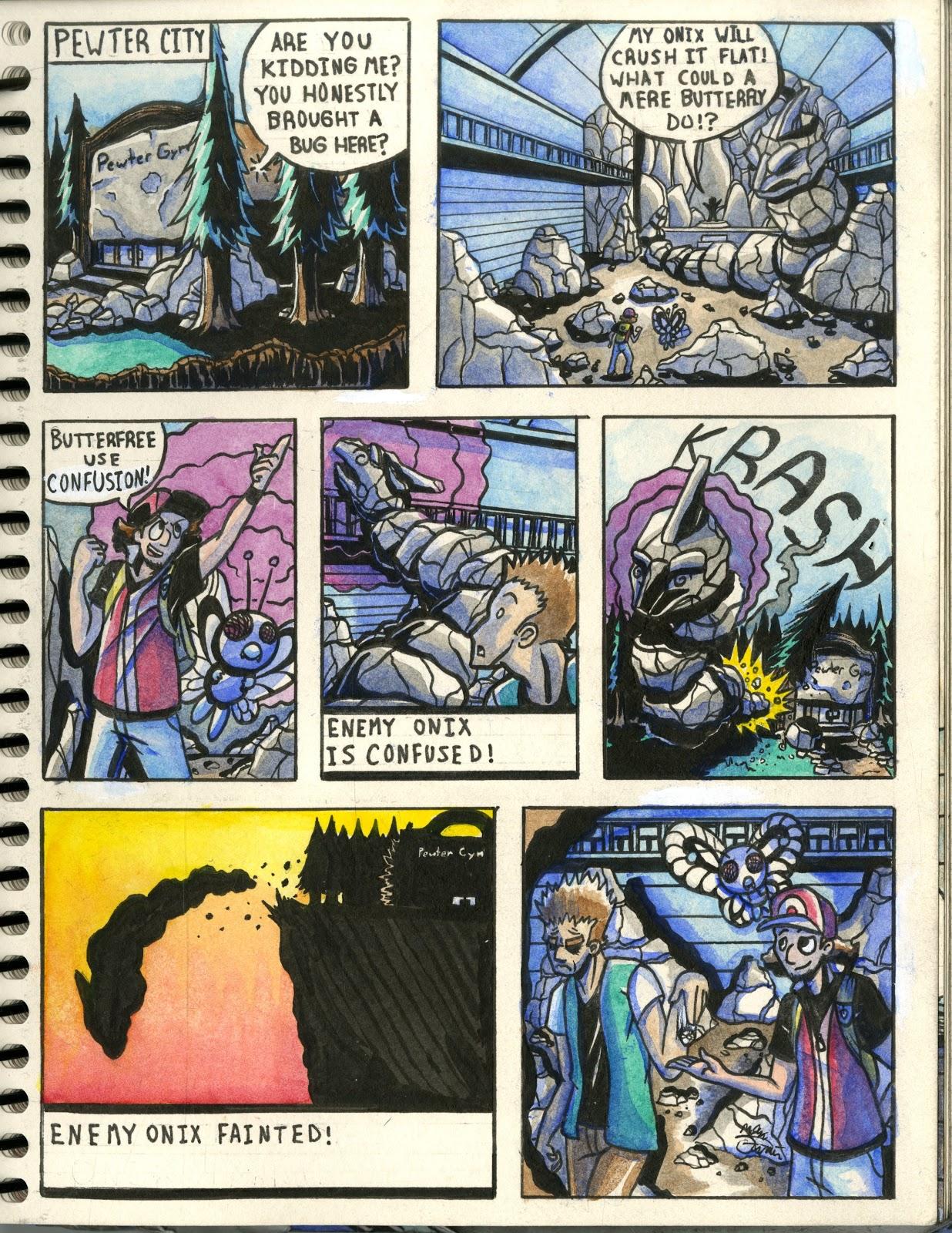 Pokemon Fan Art Comics Fan Comic 1 Pokemon