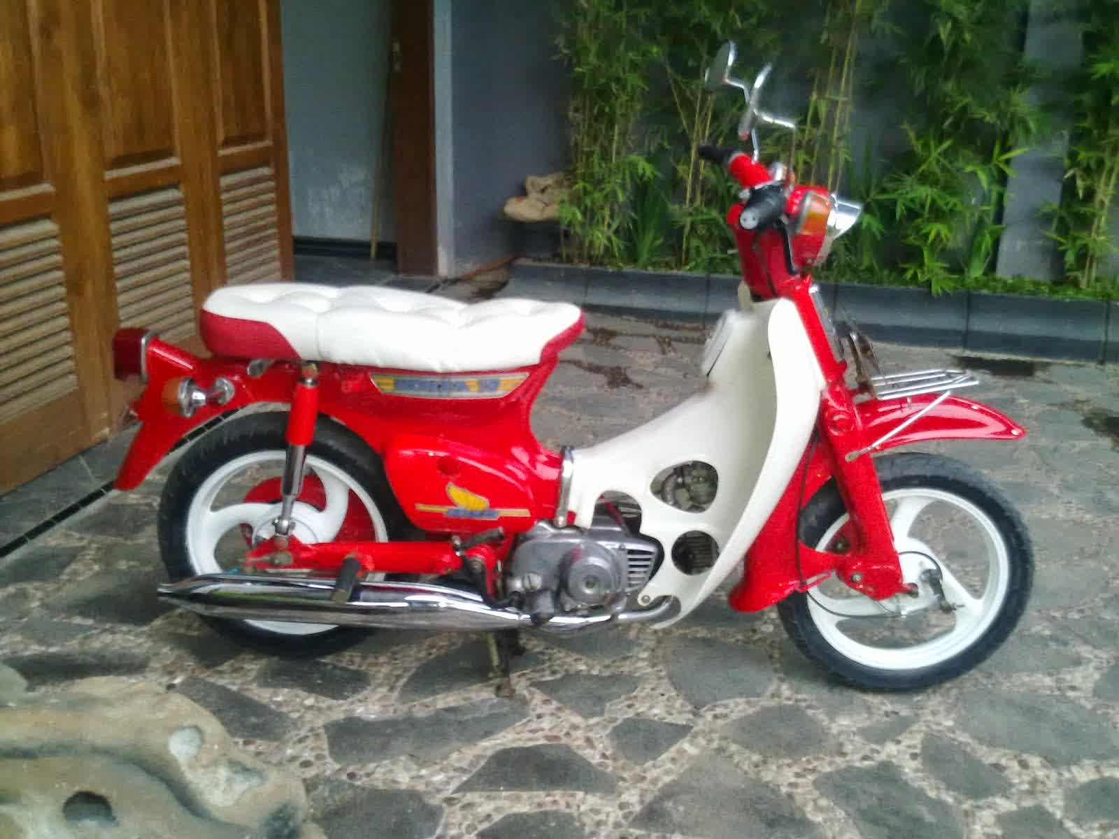 Ide 95 Jual Motor Honda 70 Modifikasi Terlengkap Rante Modifikasi