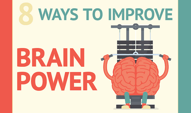 8 Ways To Improve Brain Power