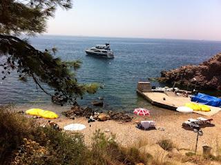 Burgazada Kalpazankaya Plajı