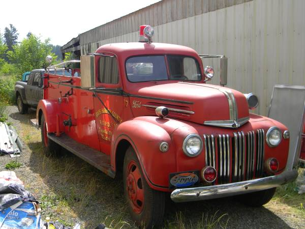 Ford Fire Truck