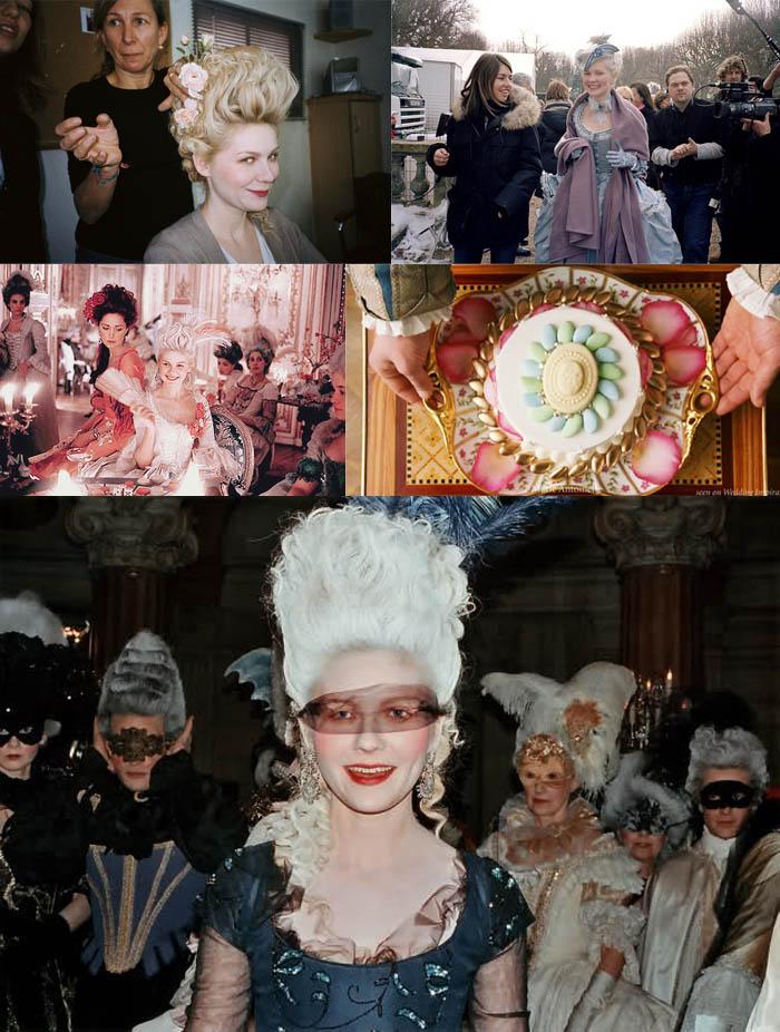 A RAINHA DA MODA_Bastidores do filme_doces franceses_maria Antonieta_sofia coppola_kirsten dunst