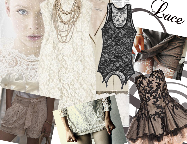 lace Fashion Trends Fall Winter 2012