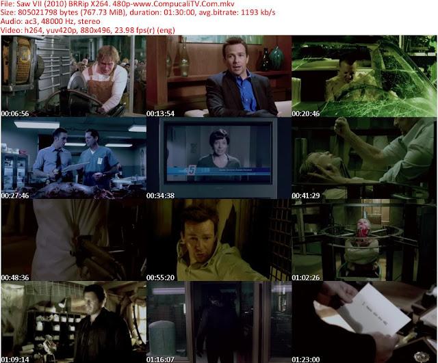 Juegos Macabros 7 Capitulo Final [Saw 7 3D] DVDRip Español Latino Descargar