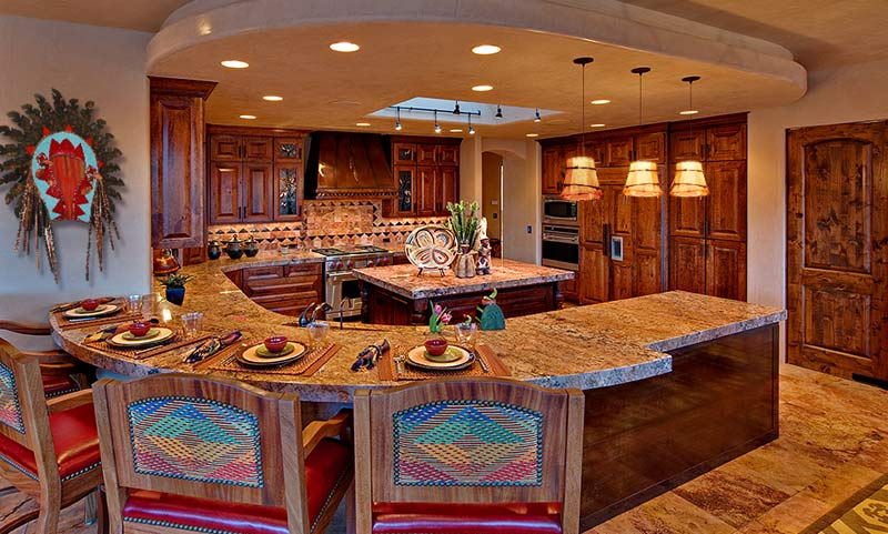 Western Kitchen Design: Color My Western Kitchen Stylish Western