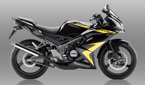 Warna dan strriping baru Kawasaki Ninja 150RR 2014 . . . . update terus