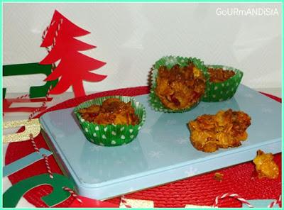 image-Gourmandises de Noel : bouchées croustillantes cranberries - miel