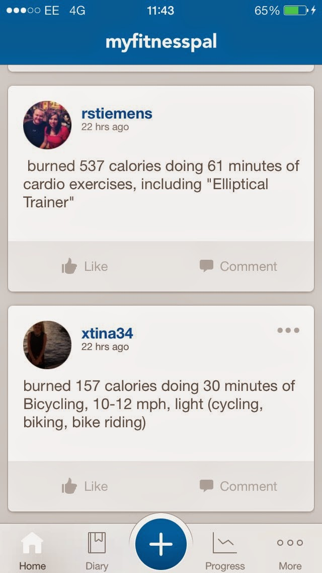 how to add runtastic exercise to my fitness pal