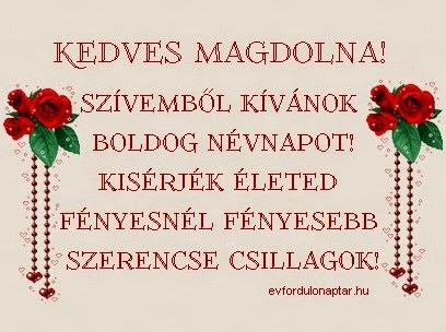 Május 29 - Magdolna névnap