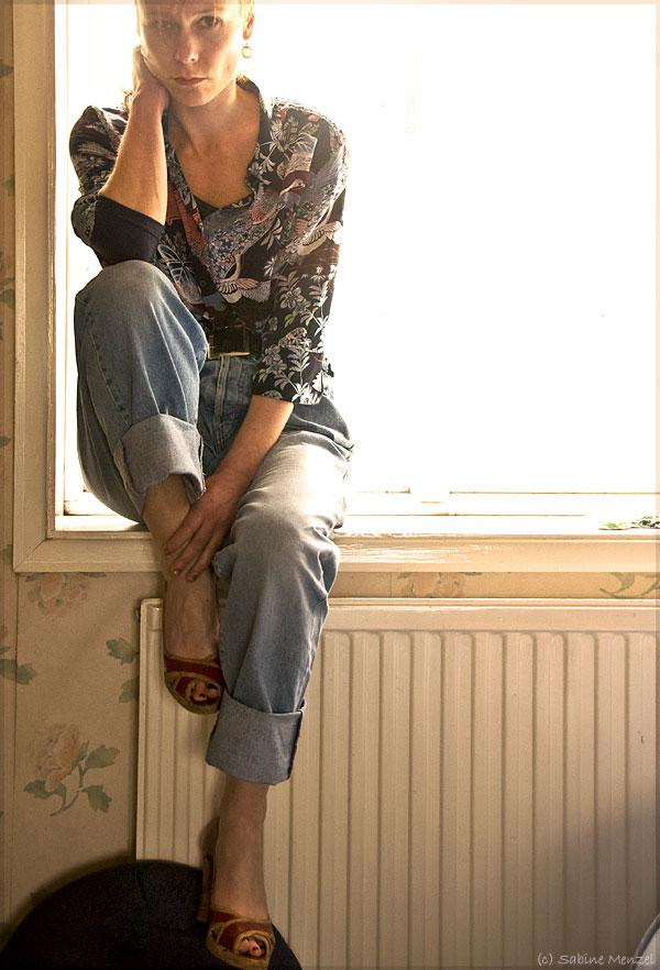 Psynopsis Diesel Jeans Vintage Linea Silk Blouse Costume National Shoes