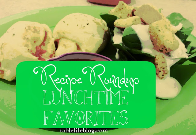 Recipe Roundup: Favorite Lunches