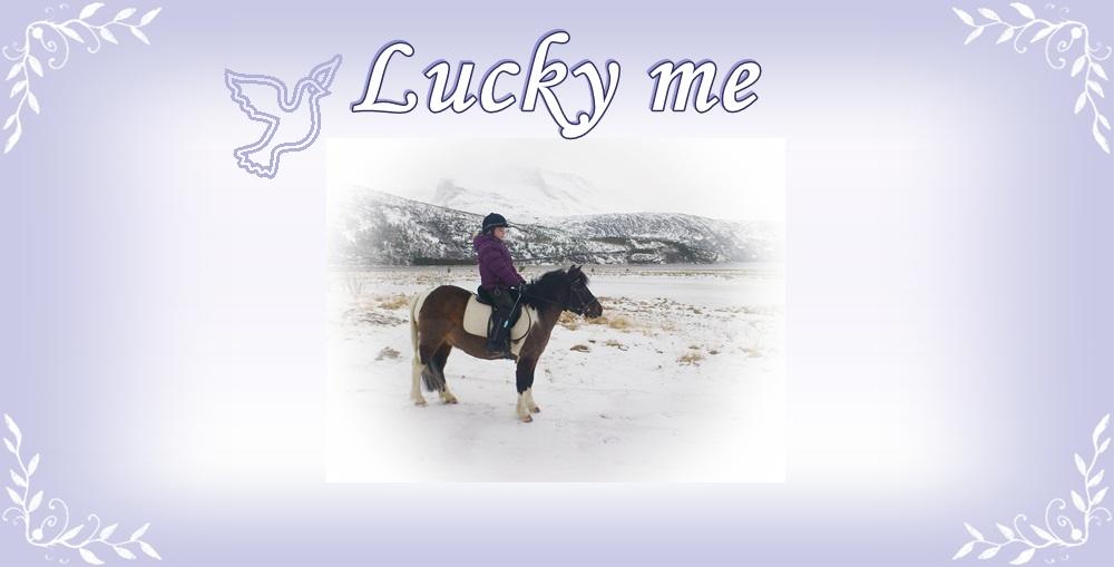 Lucky me :o)