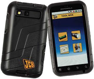 JCB Motorola Defy+