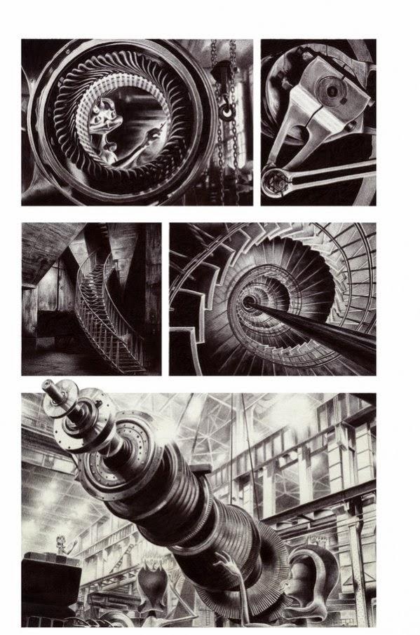 Lovot Factory 153 _ Ballpoint pen Illustration