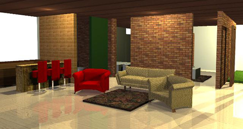 traditional and modern homes design combination pendopo