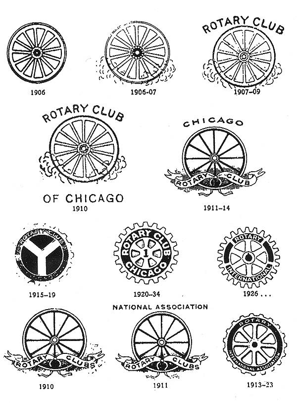 History Of All Logos Rotary Club Logo History