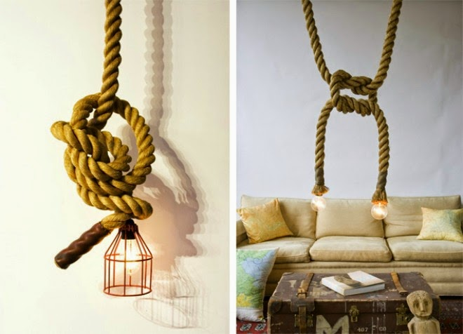 decorate the bulb with the rope | Outdoor Furniture in Vietnam