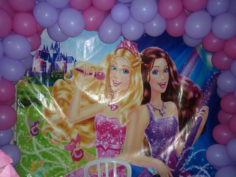 Festa  Barbie Em A Princesa E A Pop Star