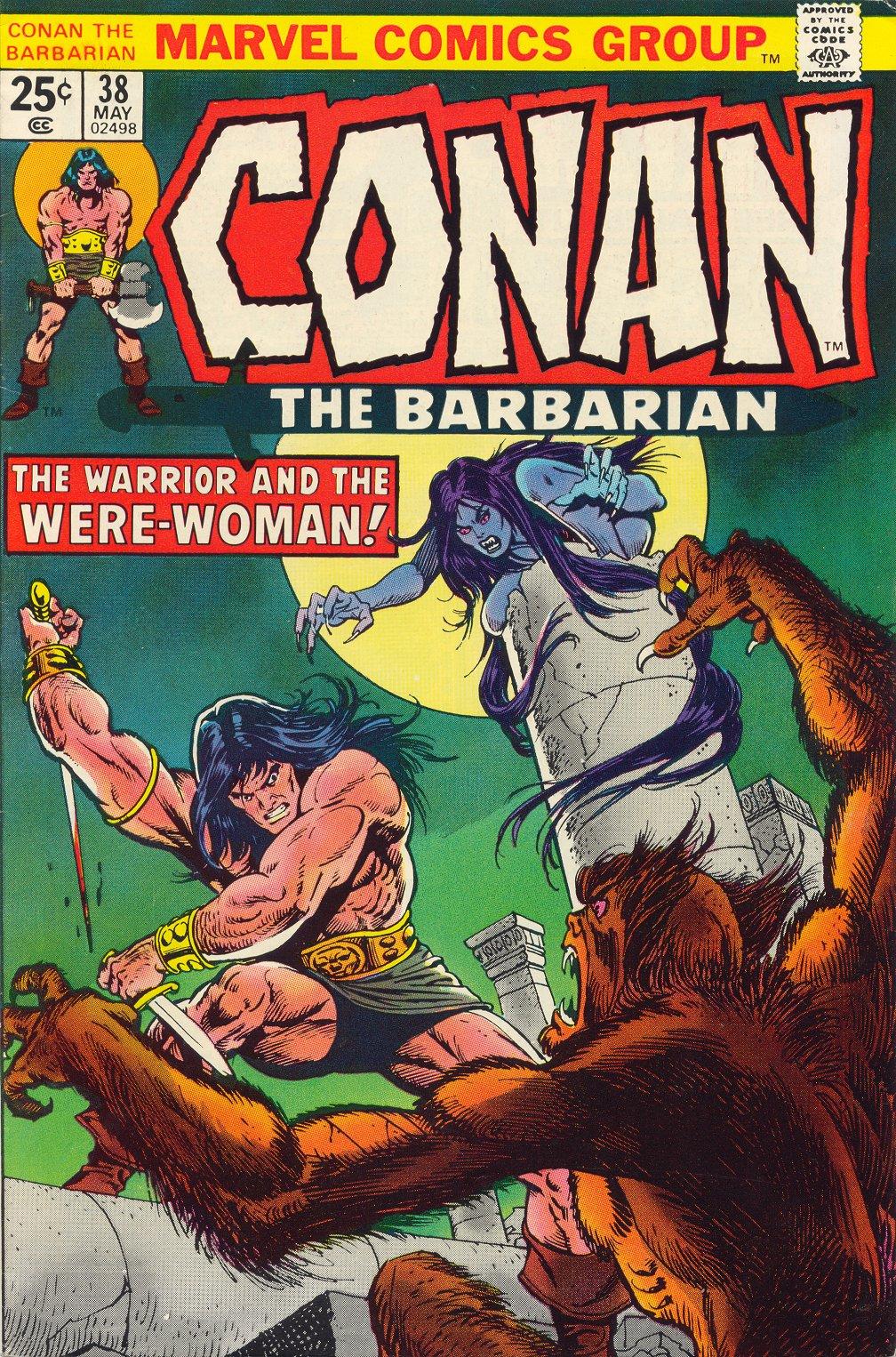 Conan the Barbarian (1970) 38 Page 1