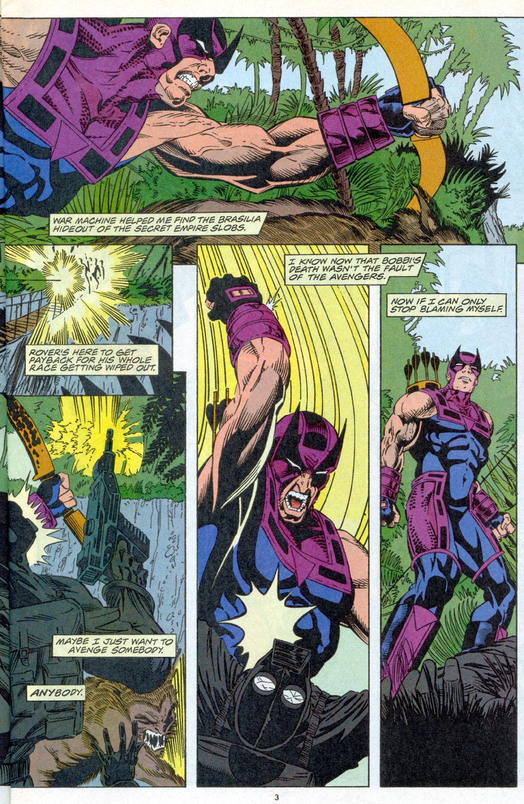 Hawkeye (1994) Issue #4 #4 - English 4