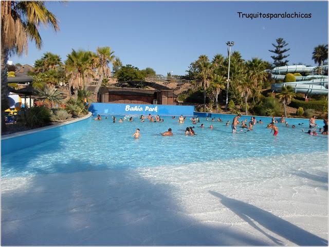 piscina Parque acuatico bahia park