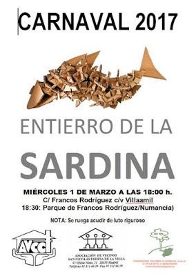 1 de marzo Entierro de la Sardina