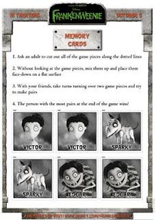 Frankenweenie game