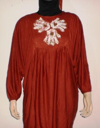 Grosir baju muslim murah online tanah abang atasan wanita Baju gamis nevada