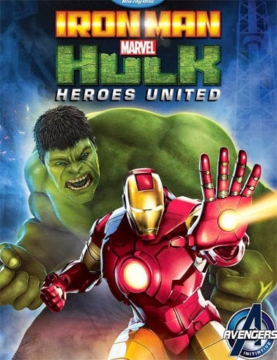 Iron Man and Hulk Heroes United (2013) Online Latino