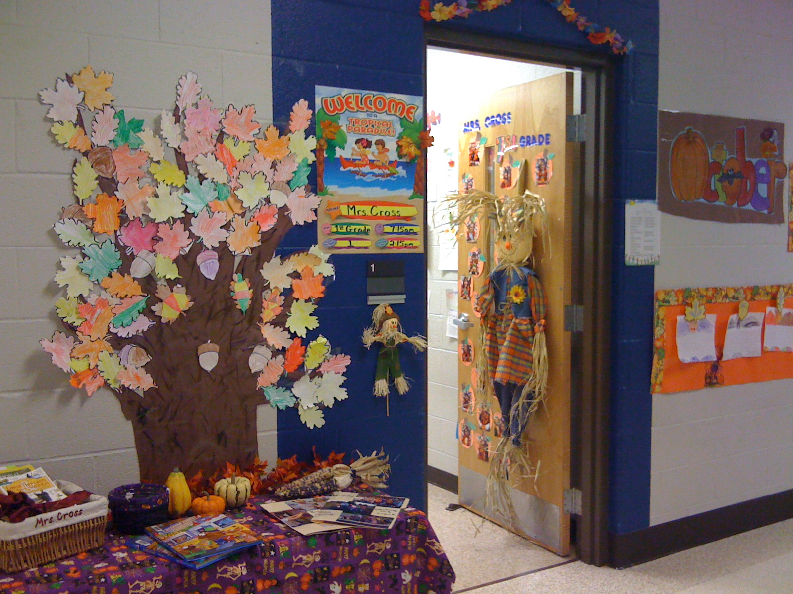Door Decorations Linky Party