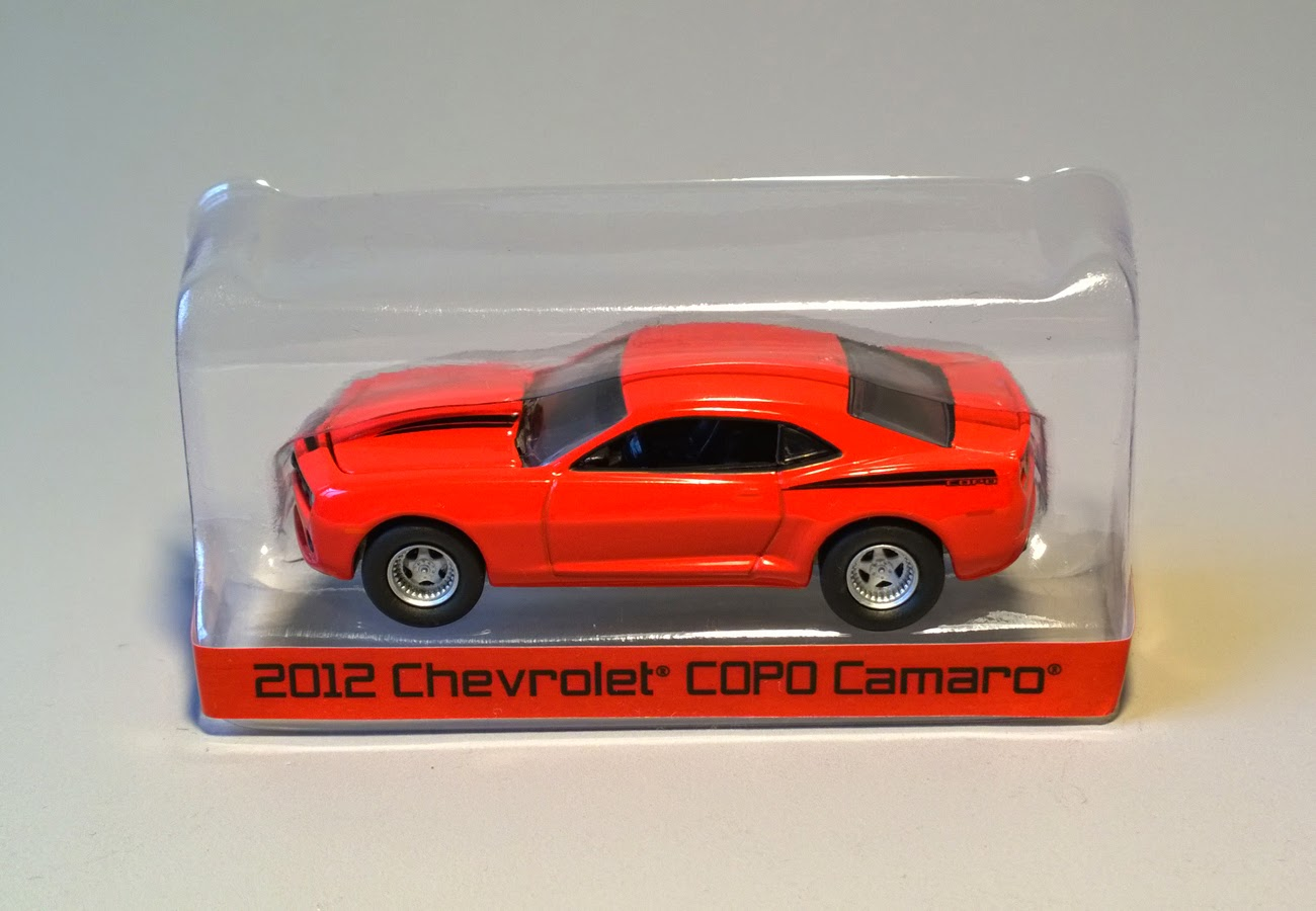 Copo Camaro Wiki >> Sixty Four Ever Diecast: 2012 Chevrolet COPO Camaro by GreenLight