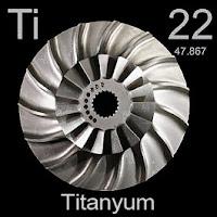 Titanyum Elementi Simgesi Ti