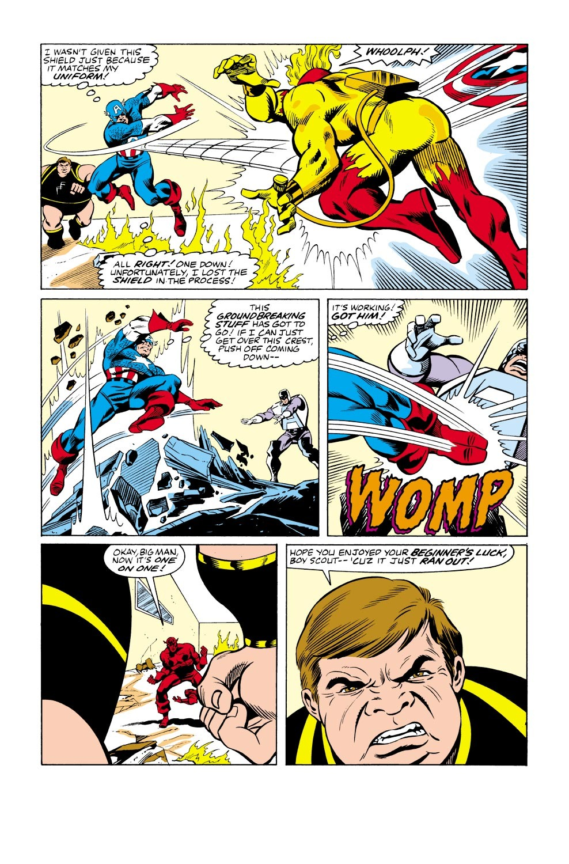 Captain America (1968) Issue #333 #262 - English 21