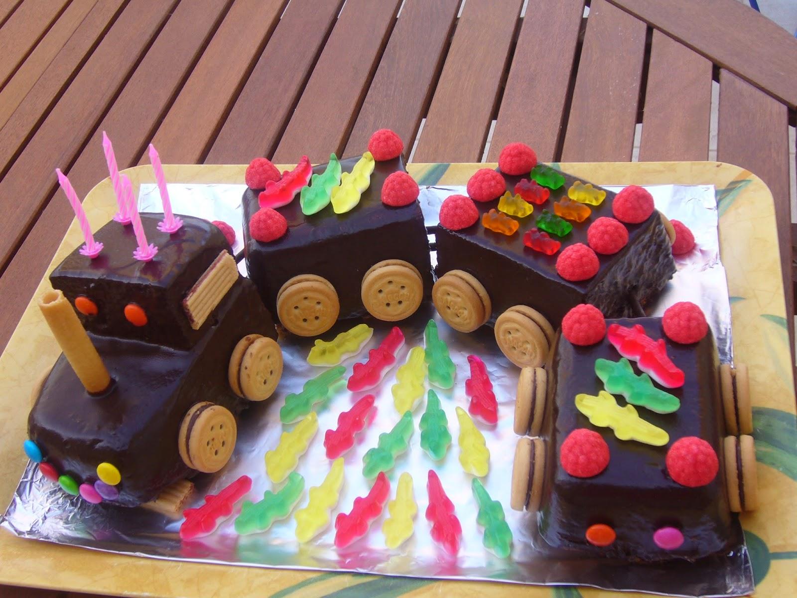 Bien-aimé Mon joli petit train ~ Les gâteaux de Dani MI88
