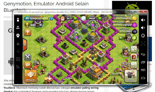 Genymotion, Emulator Android Selain Bluestack