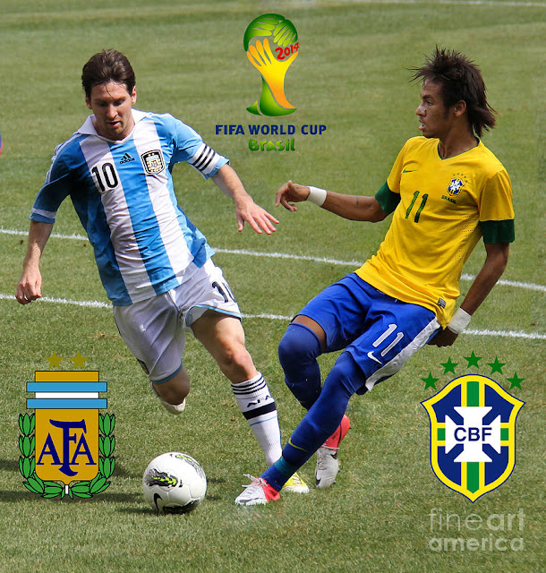 Lionel Messi vs Neymar JR