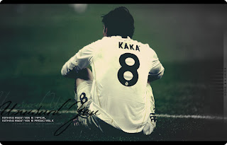 Ricardo Kaka the number 8 at Real Madrid