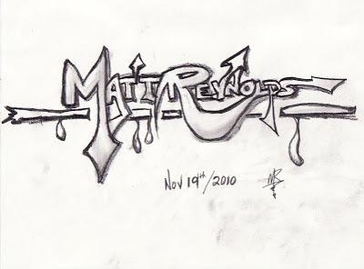 graffiti names to draw