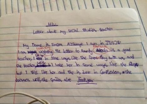 Dolor's Blog.: Seriously funny. A Youth Corper Releases Essay ...
