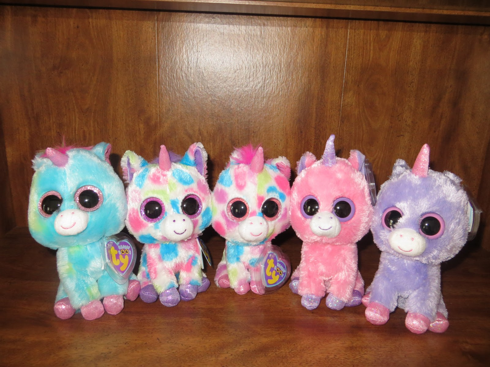 Ty Beanie Boos Goddess Day 4 Introduction Of Beanie Boos Unicorns