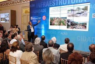 Vice-governador Pezão apresenta os investimentos do Governo do Estado na recuperação de municípios atingidos por desastres naturais