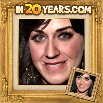 Katy Parry quando ficar velha
