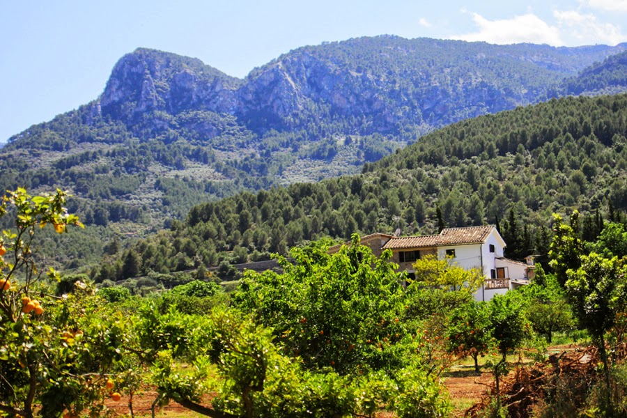 landschaft spanien